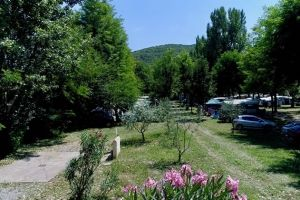 Camping le Chassezac emplacements