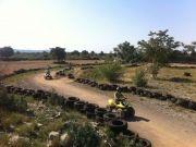 Circuit quad enfant en Sud Ardèche