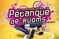 International de Pétanque de Ruoms