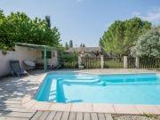 La piscine du gite La Cour de l'Olivier en Ardèche
