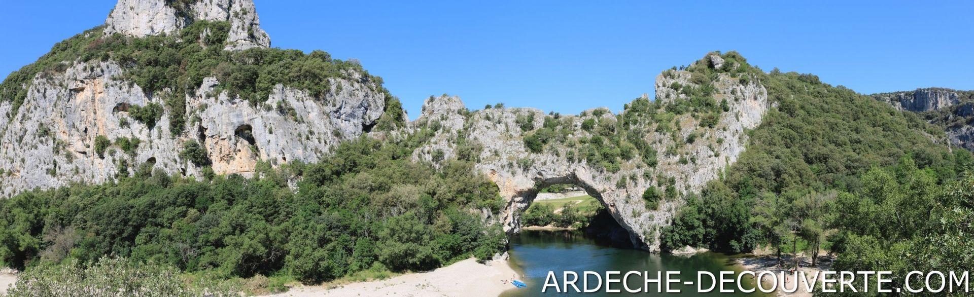 Pont d'Arc face sud
