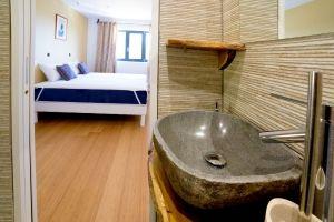 Salle de bain chambre d'hotes en Ardèche